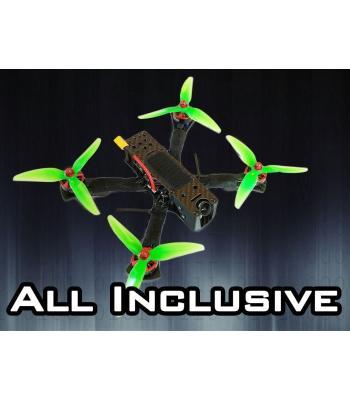 AIUR 100% Готов за полет състезателен дрон