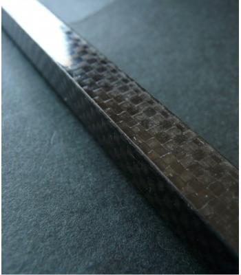 10x10x500mm профил от плетен карбон